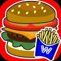 Today opening hamburger Schopp icon