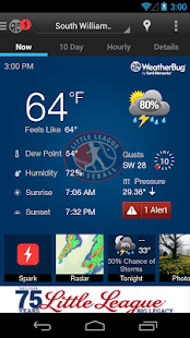 Little League WeatherBug- screenshot thumbnail
