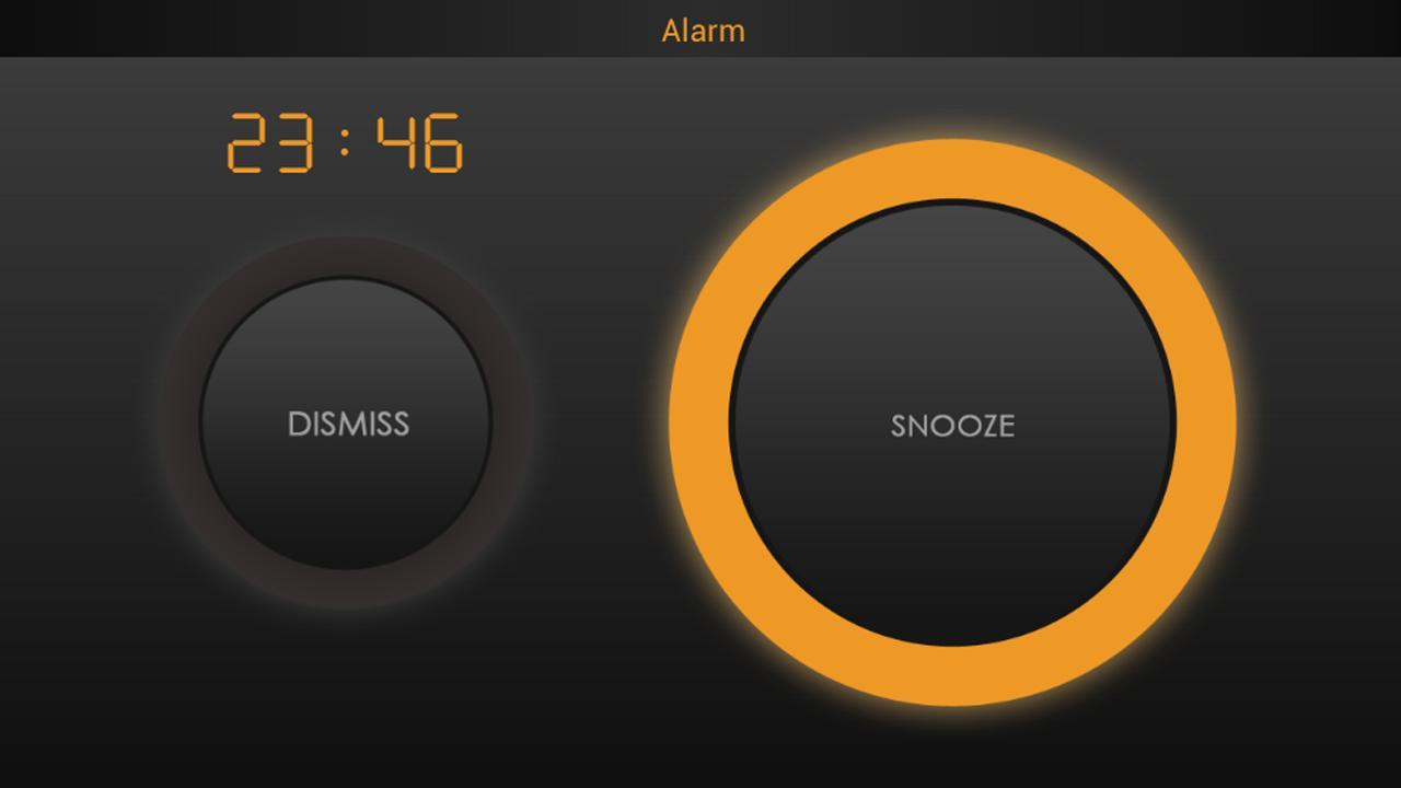 Bedside Alarm Clock Screenshot
