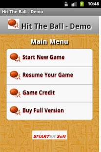 Hit The Ball - Demo- screenshot thumbnail