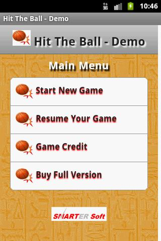 Hit The Ball - Demo- screenshot