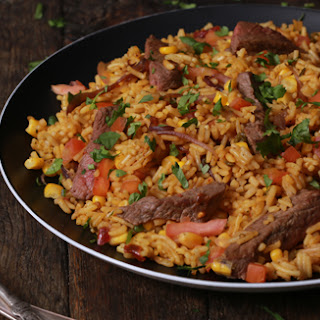 Mexican Steak & Salsa Rice