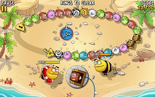 Screenshot of Crazy Rings-Funniest Game Ever