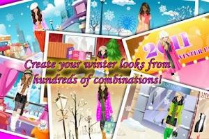 Screenshot of Dress Up - Winter Fashion