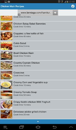 Chicken Main Recipes