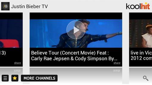 Justin Bieber Video Biography