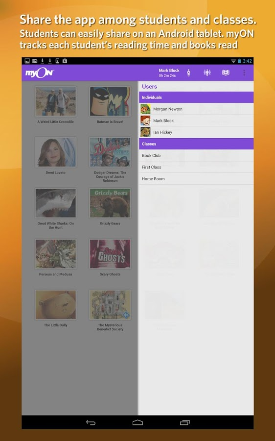 myON- screenshot