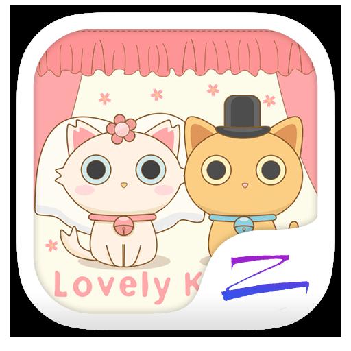 Lovely Kitten Theme -ZERO 個人化 App LOGO-APP試玩