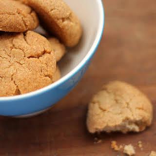 Tahini and Almond Cookies.