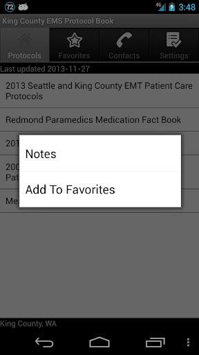 【免費醫療App】King County EMS Protocol Book-APP點子