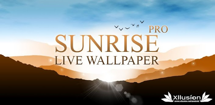 Sunrise Pro Live Wallpaper apk