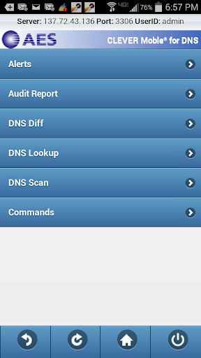 CLEVER Mobile for DNS