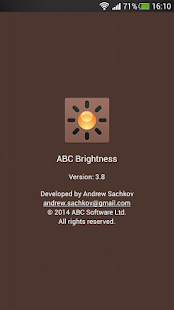 ABC Brightness- screenshot thumbnail