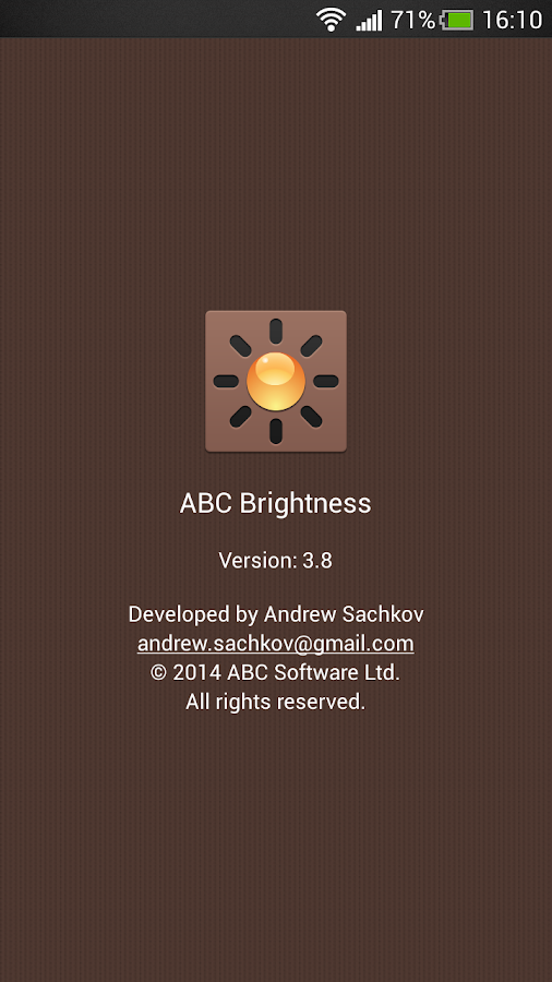 ABC Brightness- screenshot