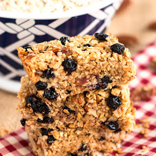 Blueberry Flax Granola Bars