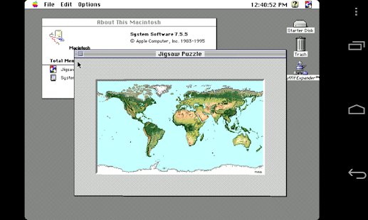 Mini vMac II- screenshot thumbnail
