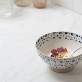 Pluot & Poppy Yogurt Bowl