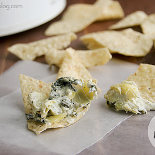Slow Cooker Spinach Artichoke Dip.