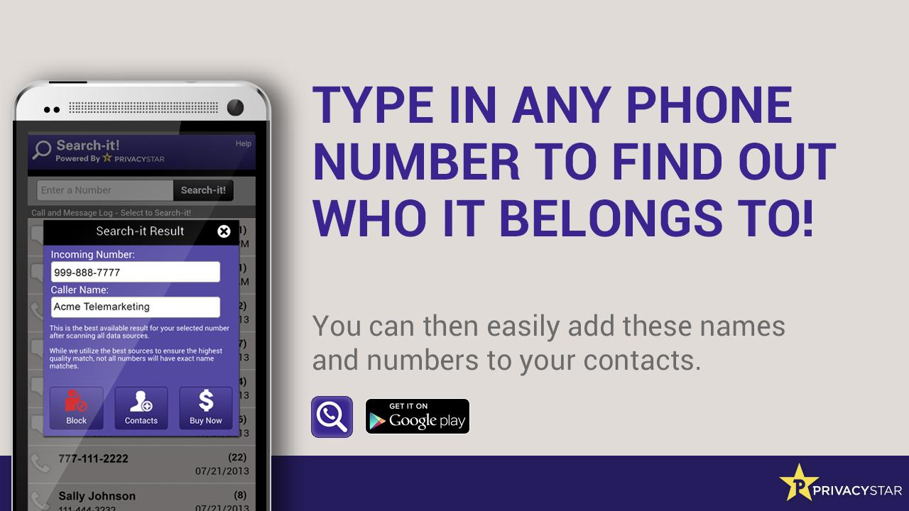 Backward Phone Number Lookup