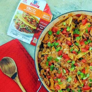 One-Pot Chipotle Chicken Taco Pasta