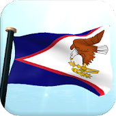 American Samoa Flag 3D Free