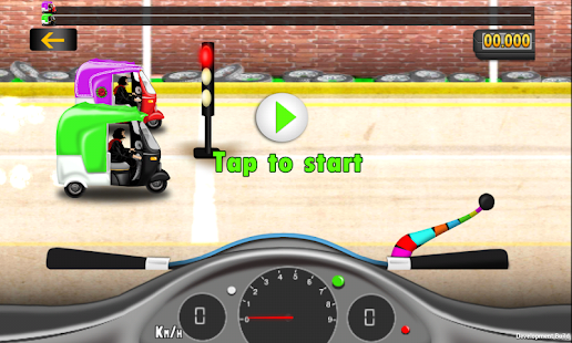 Warid Rickshaw Racing- screenshot thumbnail
