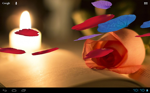 Falling Petals 3D Wallpaper- screenshot thumbnail