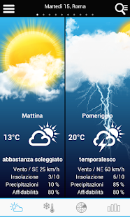 Weather for Italy - screenshot thumbnail
