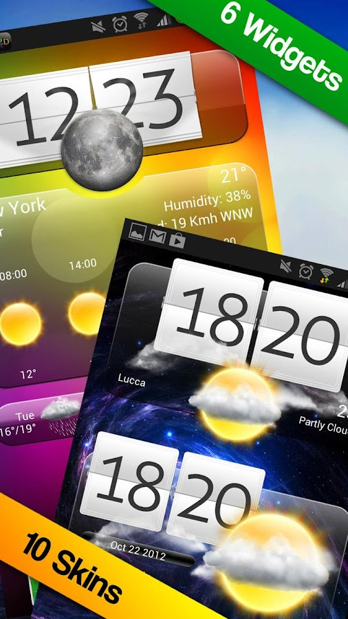Premium Widgets & Weather - screenshot