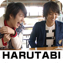 """HARUTABI""  (vol.5) logo"