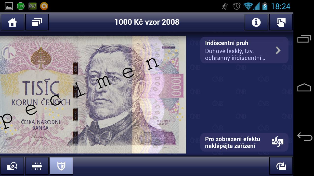 Czech money- screenshot