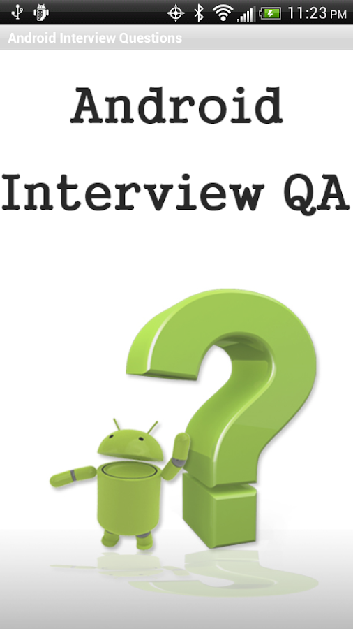 Android Interview - Questions - screenshot