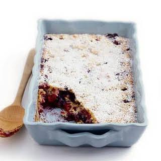 Berry Pudding Cake.