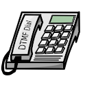 DTMFdial cost-saving dialer logo