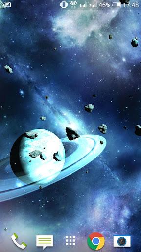 소행성3D 라이브 배경 화면