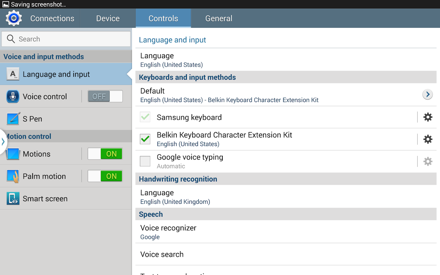 Belkin Keyboard Extension Kit - screenshot