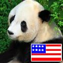 Animals in English logo