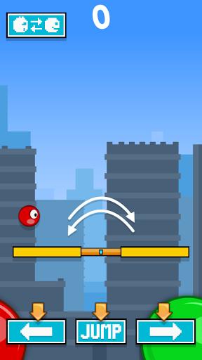 Power Stepper vs Red Ball