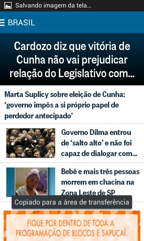 O Globo Notícias- screenshot