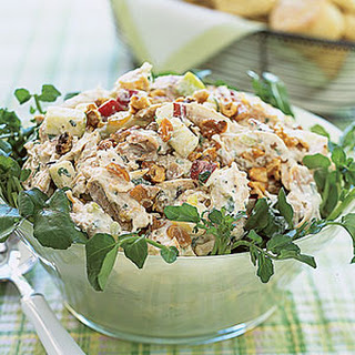 Chicken Salad with Dried Cranberries