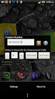Screenshot of Call Forwarding