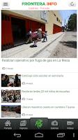 Screenshot of Frontera