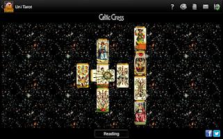 Screenshot of Uni Tarot (8 decks+)