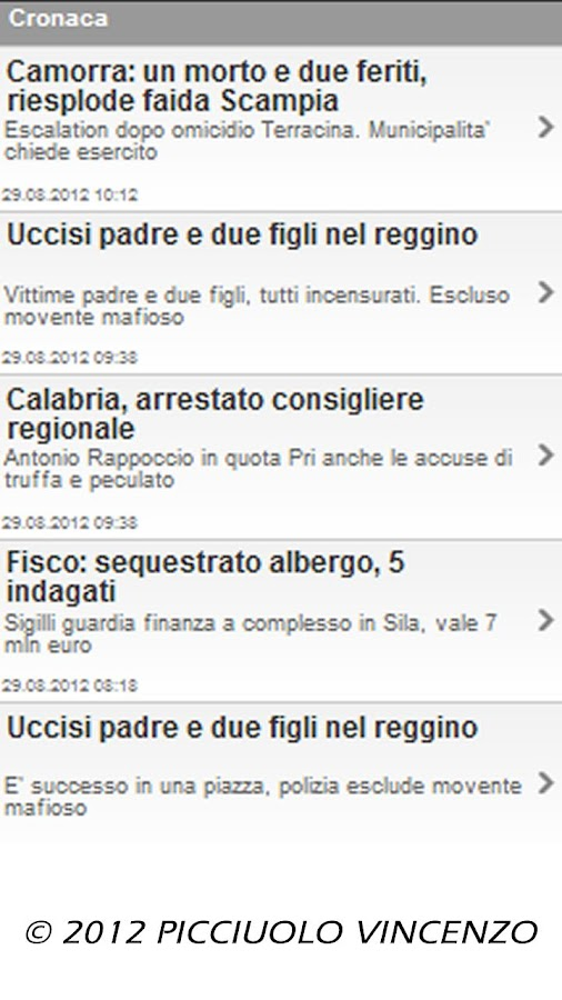 ITALIA all News - screenshot