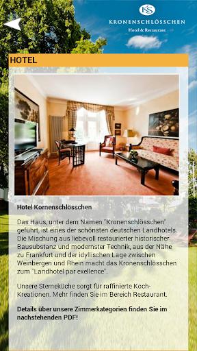 【免費旅遊App】Kronenschlösschen Hotel-APP點子