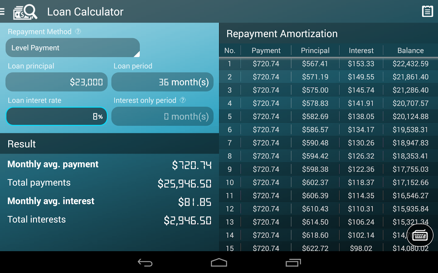 loans with balloon payment calculator
