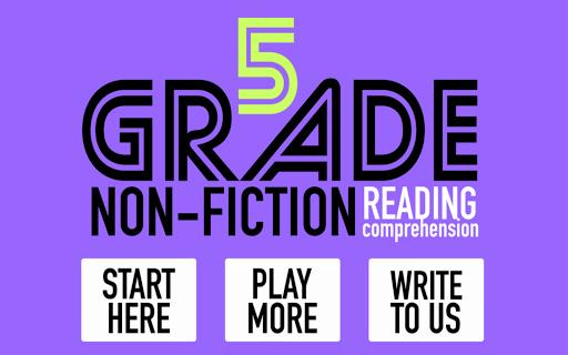 5th Grade Non-Fiction Reading