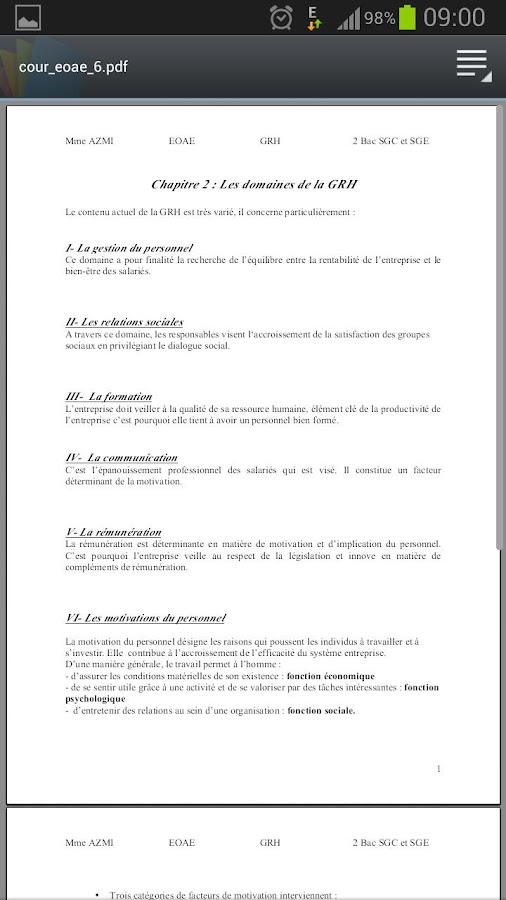 MON BAC - ECO - screenshot
