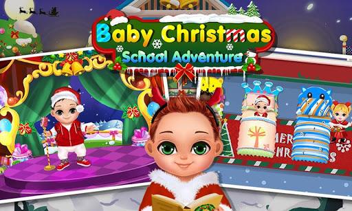 Baby Christmas School Fun