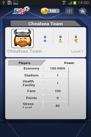 Soccer Football Manager 2014 - screenshot